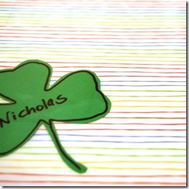 st-patricks-placemat-craft by Spoonful