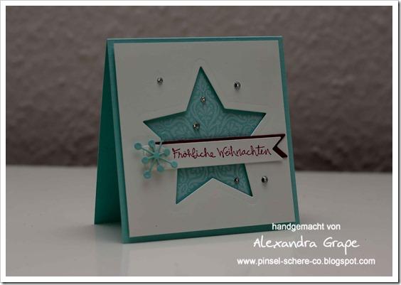 Stampin-up_Karte_Weihnachten_Christmas_Sterne_aquamarin_Sternen-Kollektion_Big-Shot_Zauber-der-Weihnacht_Gesammelte-Grüße_alexandra-Grape_001