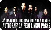Guitarra Fender autografadaLinkin Park