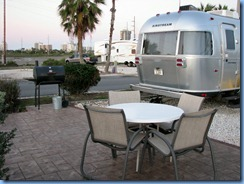 5921 Texas, South Padre Island - KOA Kampground - our Airstream trailer