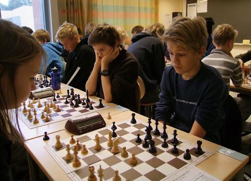 OSSUere i gruppe C. Fra venstre: Maud, Erik, Samuel og Lars Oskar.