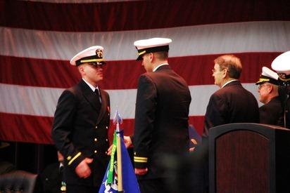 Mark Navy OCS Grad 13