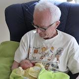 Farfar og den lille nye guldklump.