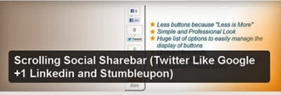 Scrolling Social Sharebar