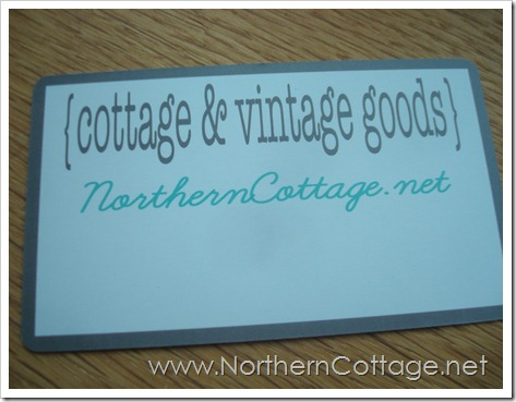 cottage and vintage goods@NorthernCottage.net