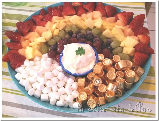 Over the Rainbow Fruit Tray