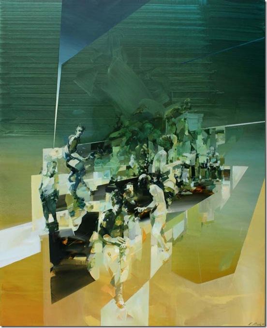 leaving-green-room-Robert-Proch-ENKAUSTIKOS
