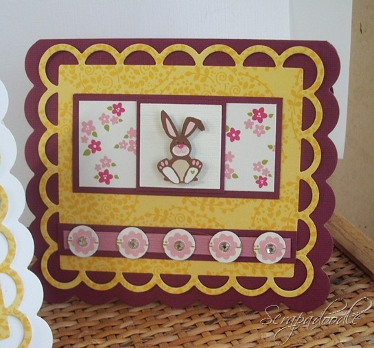 Bella Blvd Spring Fling and Easter Things, Lifestyle Crafts Cutting Dies, Clear Gems, Scrapadoodle, Carla's Scraps (3)