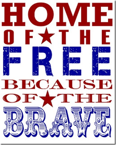 Home of the Free Printable
