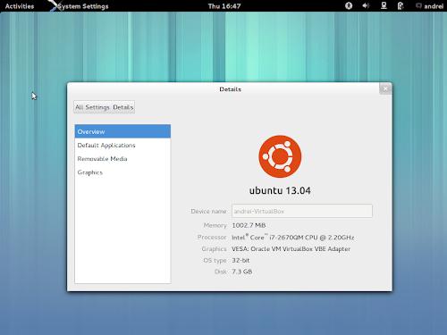 Ubuntu GNOME Remix 13.04