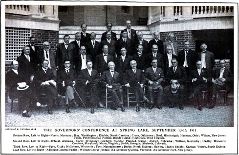 William George Jordan and Governors - 1911-09-23 The Outlook - The Gathering of the Governors