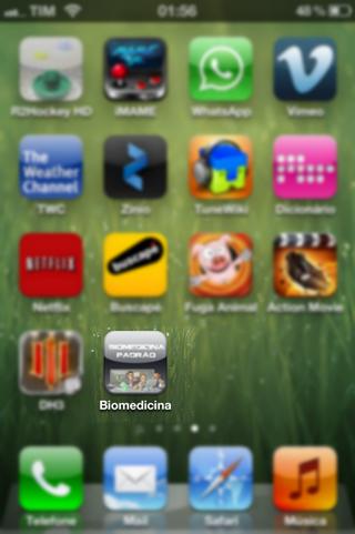 Pronto! Seu app já está instalado