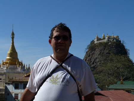 Obiective turistice Myanmar: Mt. Popa