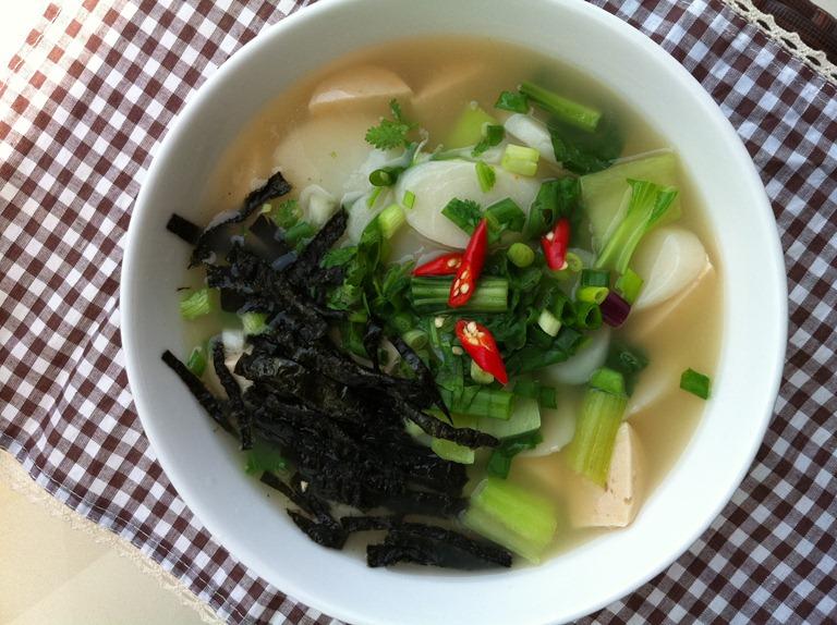 Bánh canh bột gạo kiểu Hàn Quốc – Tuệ Lan