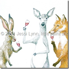 Jessi Lyn little paint shop woodland social