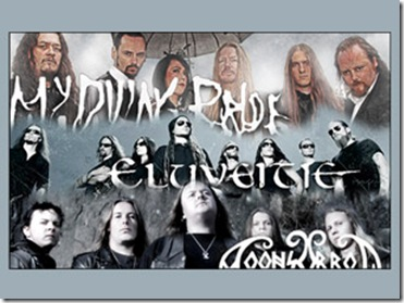 My Dying Bride en mexico 2012