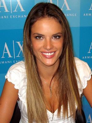 Alessandra Ambrosio long hairstyles