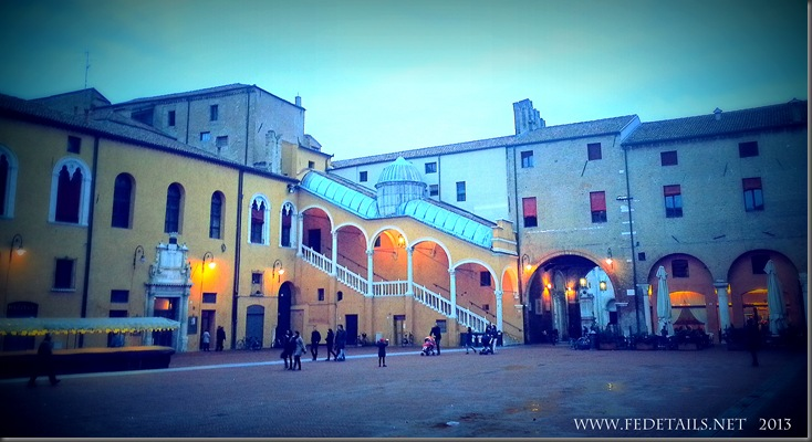 Palazzo Ducale Estense, Ferrara, Emilia Romagna, Italy - Property and copyrights of FEdetails.net