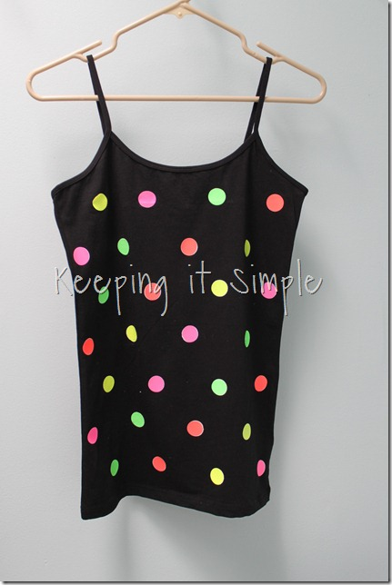 NEON polka dot shirt (8)