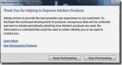 adobe improvement program