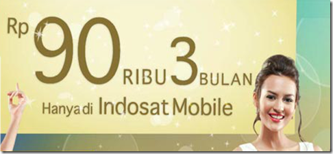 Paket Indosat BlackBerry Full Services