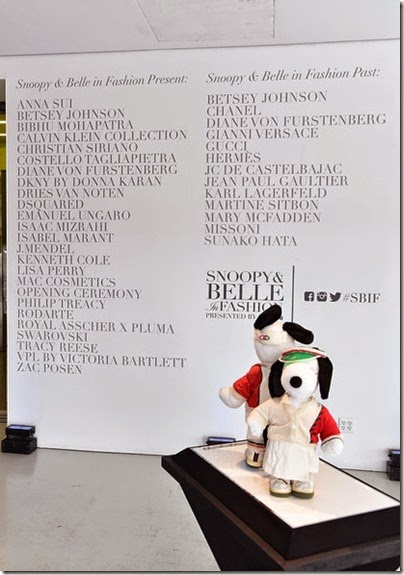 Peanuts X Metlife - Snoopy and Belle in Fashion Exhibition Presentation (Source - Slaven Vlasic - Getty Images North America) 19