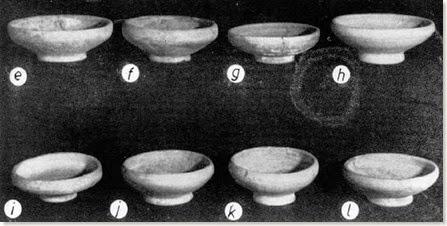 La Escuera - pequeñas páteras o pebeteros - San Fulgencio
