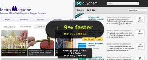 blog thiết kế - cải thiện tốc độ tải trang