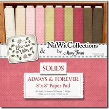 LOTV ALWAYS AND FOREVER SOLIDS PAPER PAD