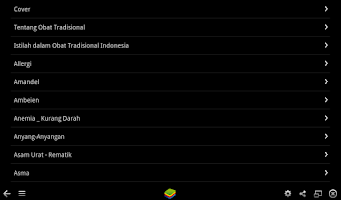 Screenshot of Obat Tradisional Herbal