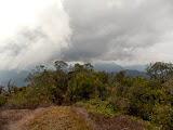 Mulu - The view from the helipad beyond Camp 4 (copyright Dan Quinn / Royal Geographical Society (with IBG) September 2014)