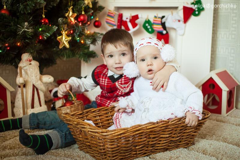 Детский новогодний фотопроект Рождественские мечты. 26. Гоша и Лея-0574