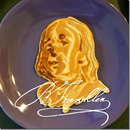 Benjamin Franklin pancake