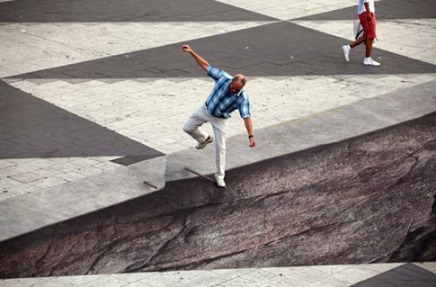 7 videos asombrosos de ilusión óptica