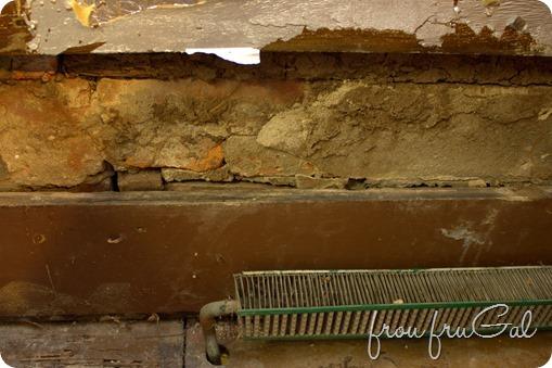 Kitchen Before - Window Plaster Damage