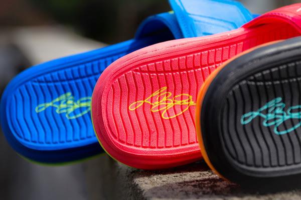 Nike Air LeBron Slide 3 Elite 8211 Sprite Peach amp Hyper Punch