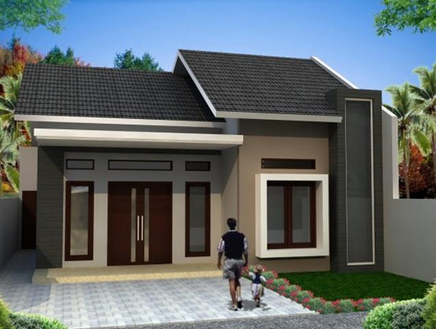 atap rumah minimalis 1 lantai