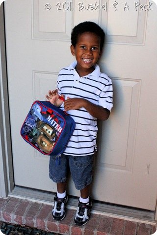 1st Day of School - Quint - Pre-K