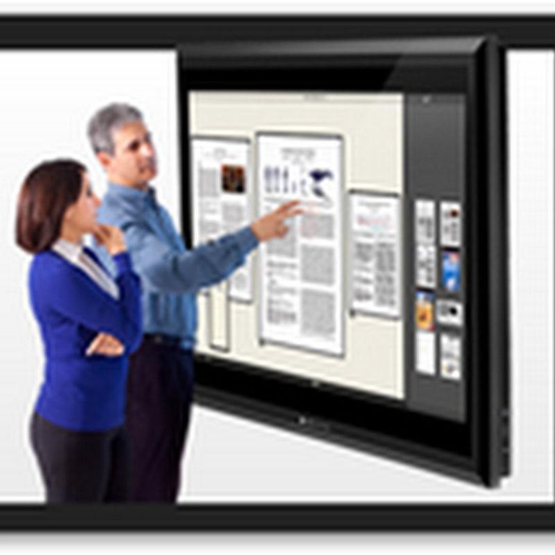 Microsoft Buys Perceptive Pixel–Large HD Multi Touch Display With Digitizer Software and Hardware
