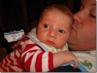2.  Hanging with Daddy