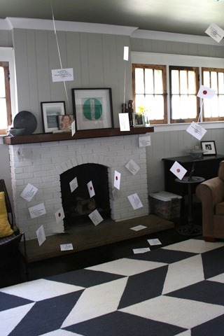 Harry Potter Envelopes out of Fireplace