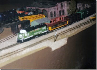 26 N-Scale Layout at the Lewis County Mall in January 1998
