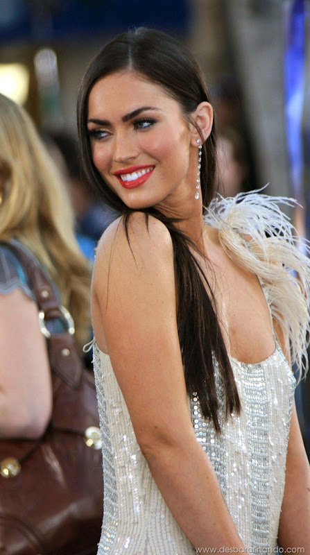 MEGAN FOX - TRANSFORMERS - PREMIERE - MANN VILLAGE THEATER, WESTWOOD, CALIFORNIA -  06-27-2007 - PHOTO BY NINA PROMMER/GLOBE PHOTOS INC ©2007 K53651NP