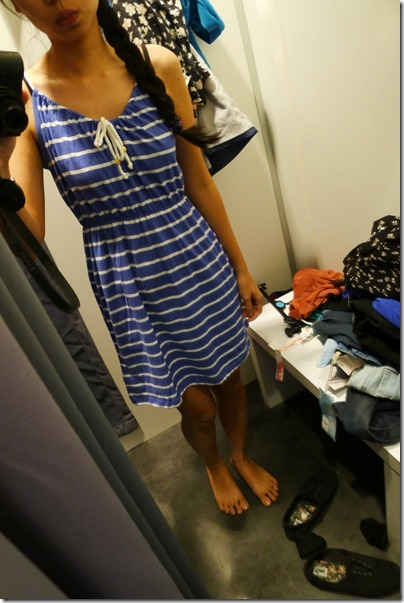 nautical mini dress