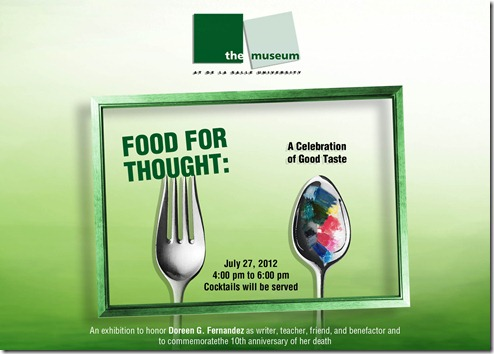 food for thought postcard invite 02