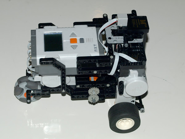 Testing The Mindstorms Cruizcore Sensor Mems