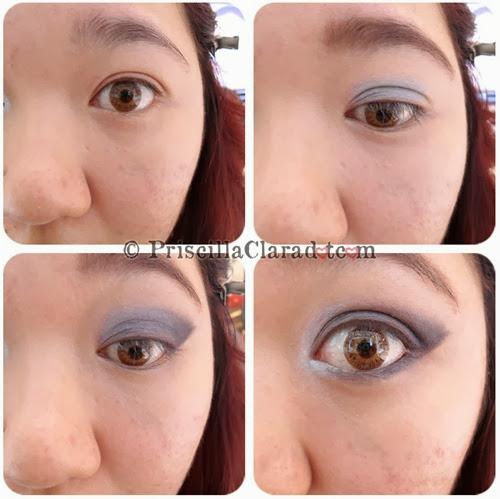 Priscilla Makeup Contest Lancome Alber Elbaz eyes
