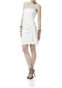 Strapless Silk Cady Dress
