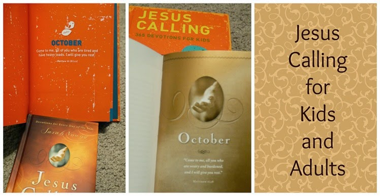 Jesus Calling for Kids and Adults