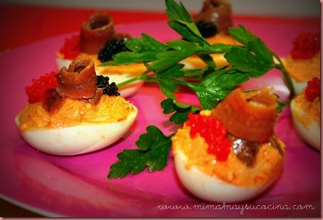 Huevos Rellenos - Mimamaysucocina.com